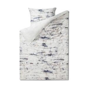 Povlečení na jednolůžko z čisté bavlny Casa Di Bassi Marble, 155 x 220 cm