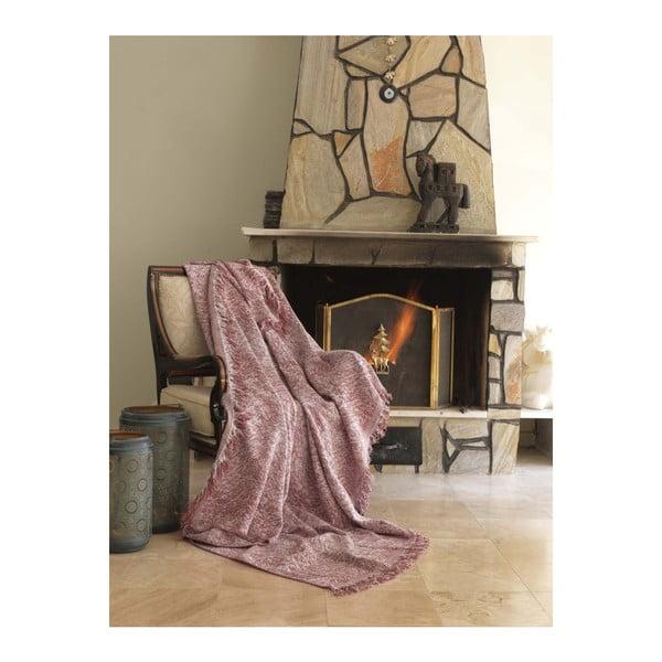 Pătură Cover Lurisso, 170 x 220 cm, roșu