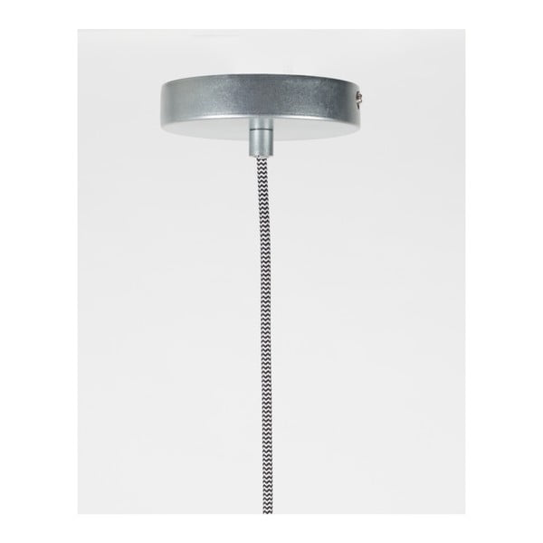 Zzávěsné svítidlove stříbrné barvě Zuiver Marlon