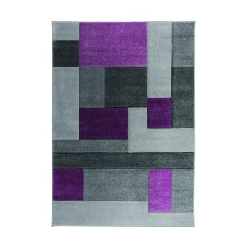 Covor Flair Rugs Cosmos Purple, 80 x 150 cm, gri-mov imagine