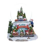 Hrající sněžítko Ewax Snowy Train