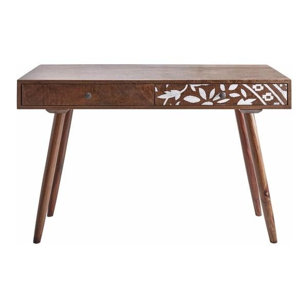 Pracovní stůl z mangového dřeva Støraa Biblek