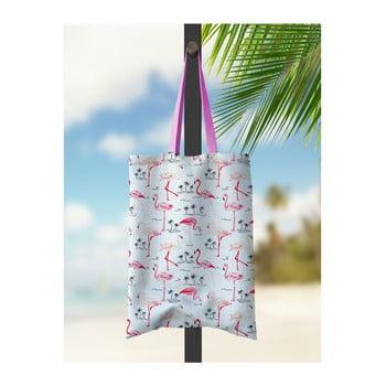 Geantă de plajă Kate Louise Flamingo Bay imagine