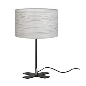 Šedá stolní lampa Bulb Attack Catorce