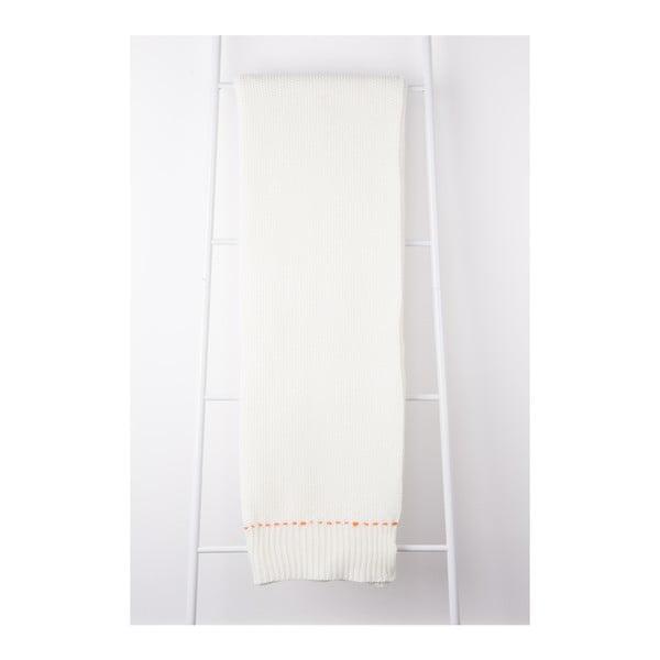 Světle béžový pléd Zuiver Aster, 170 x 130 cm