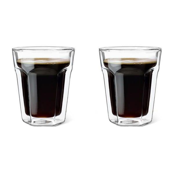 Sada 2 dvoustěnných sklenic Leopold Vienna Coffee, 220 ml