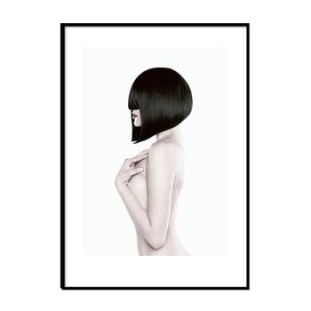Poster cu ramă Piacenza Art Black Lady Body, 30 x 20 cm imagine