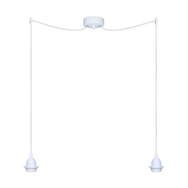 Dva závěsné kabely Uno+, bílá/bílá
