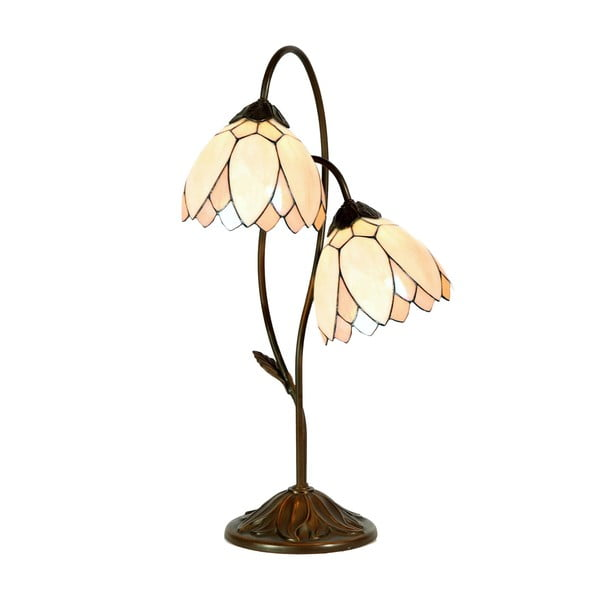 Tiffany stolní lampa Flowers