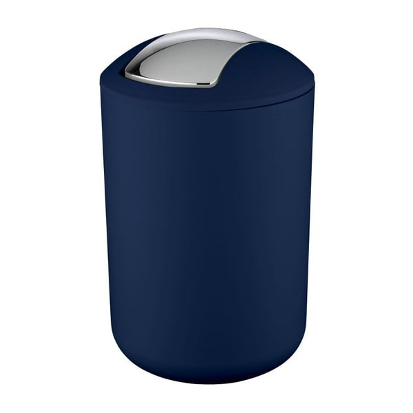 Tmavě modrý odpadkový koš Wenko Brasil Dark Blue L