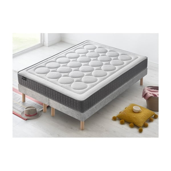 Dvoulůžková postel s matrací Bobochic Paris Passion, 90x200cm +90x200cm