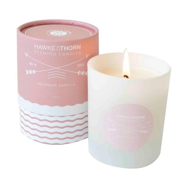 Vonná svíčka s vůní bourbonské vanilky Hawke&Thorn