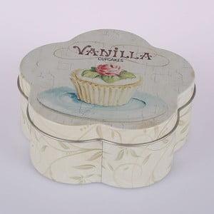 Plechová dóza Vanilla Cupcake Flower