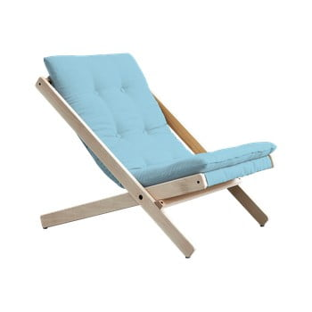 Scaun pliabil Karup Design Boogie Raw/Light Blue de la Karup Design