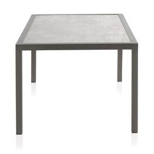 Zahradní stůl s keramickou deskou Geese Francesca, 100 x 160 cm