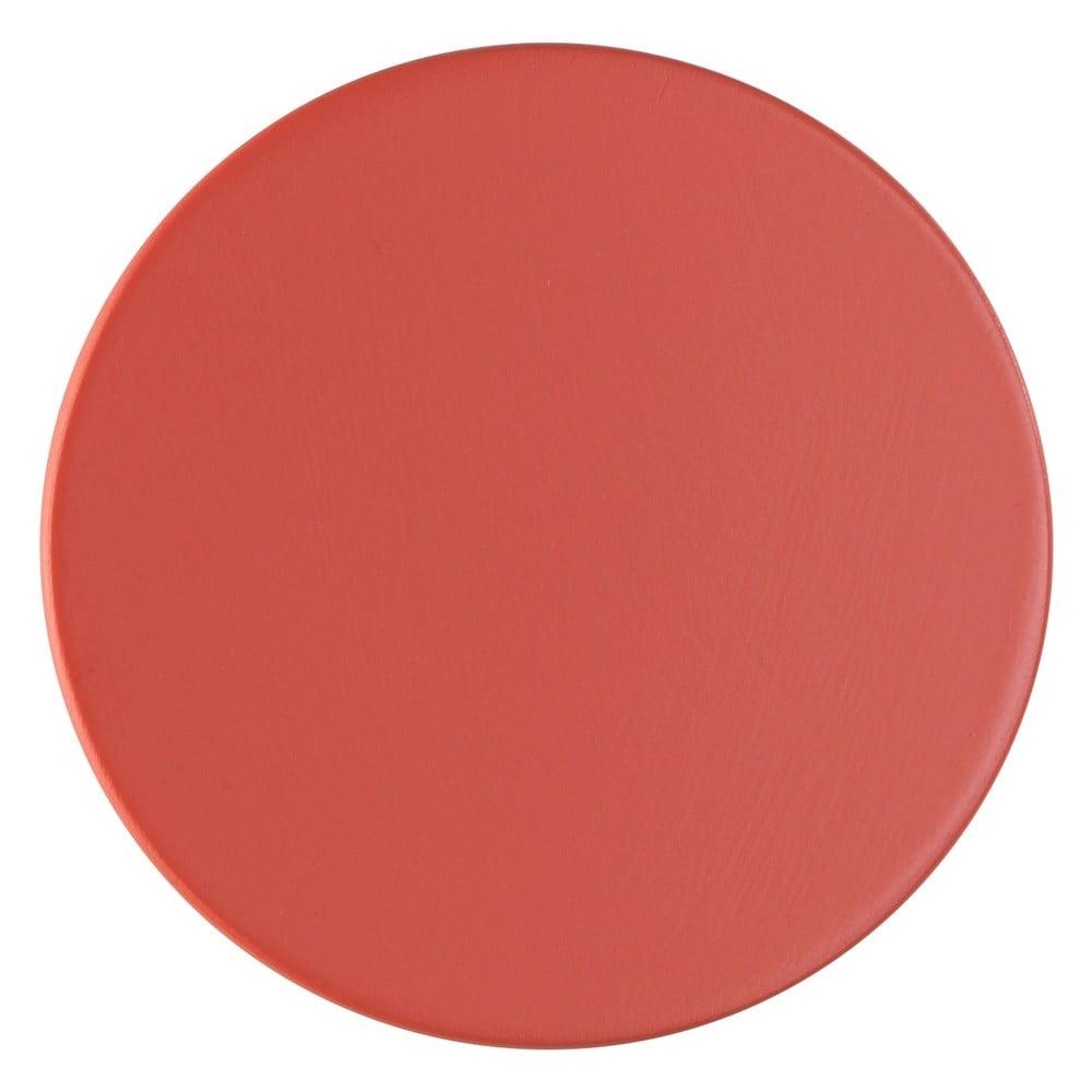 Produktové foto Korálově červený nástěnný háček Wenko Melle, ⌀6cm