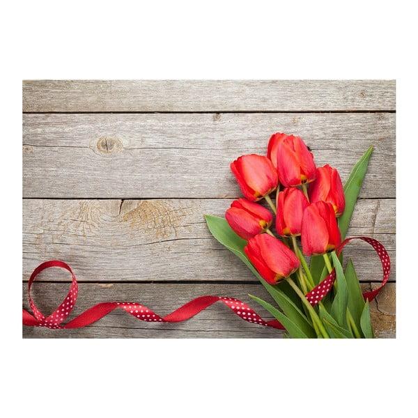 Vinylová předložka Tulips,52x75cm