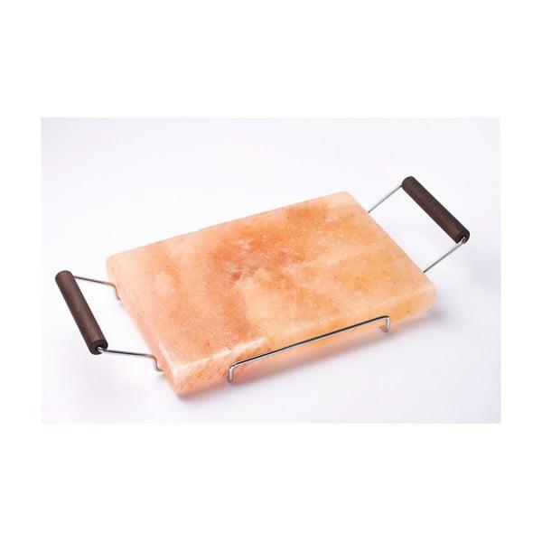 Servírovací podnos ze solné desky Salt Plate, 22x45 cm
