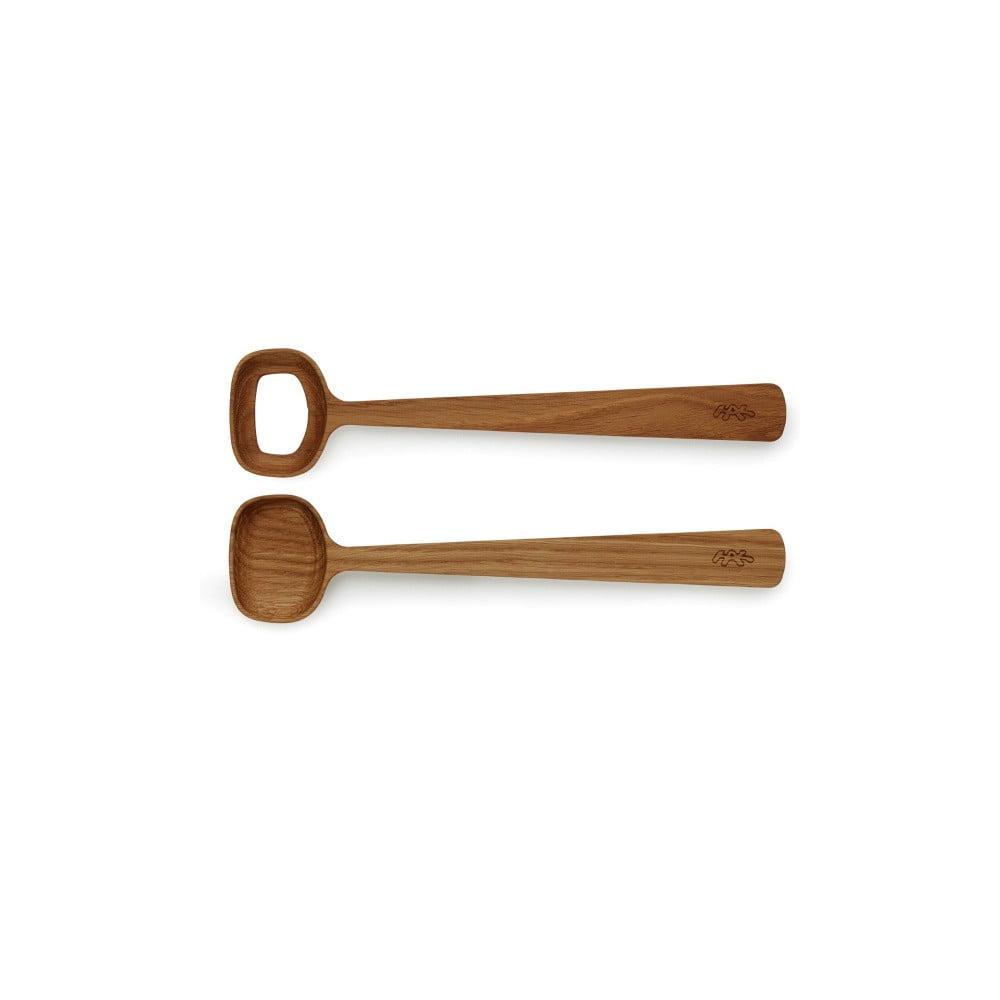 Dřevěný salátový příbor Kähler Design Hammershoi