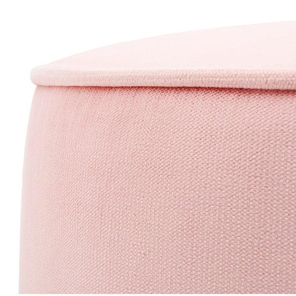 Dětský růžový sedací puf PumPim Ava