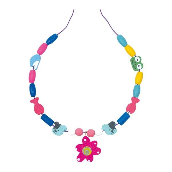 Set creativ cu mărgele din lemn Legler Beads