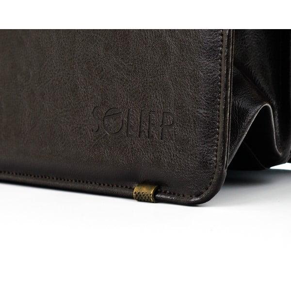 Pánská taška Solier S20, hnědá