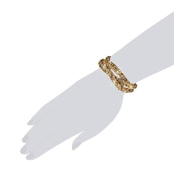 Náramek Golden Classic, 19 cm