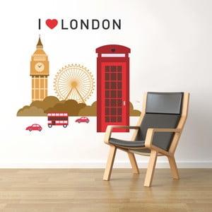 Samolepka na stěnu Londýn, 60x90 cm