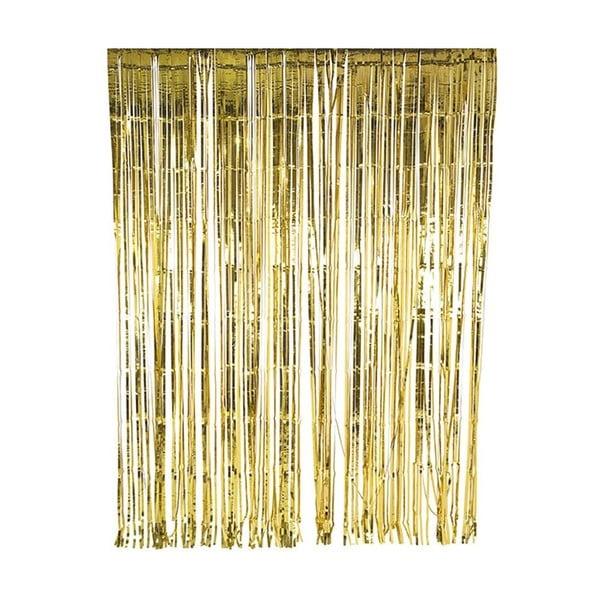 Řetěz z třásní Gold Foil, 2,5 m