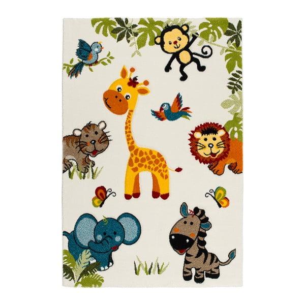 Covor pentru copii Universal Kinder Blanco, 120 x 170 cm