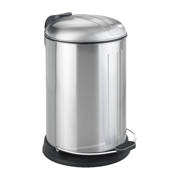 Coș de gunoi cromat Wenko Lagun, 12 l