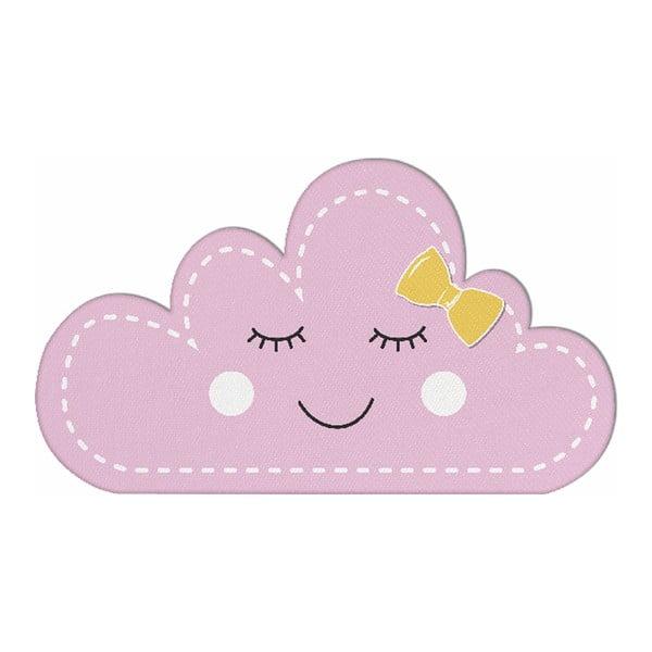 Pernă din amestec de bumbac pentru copii Apolena Pillow Toy Unicorn III, 35 x 24 cm