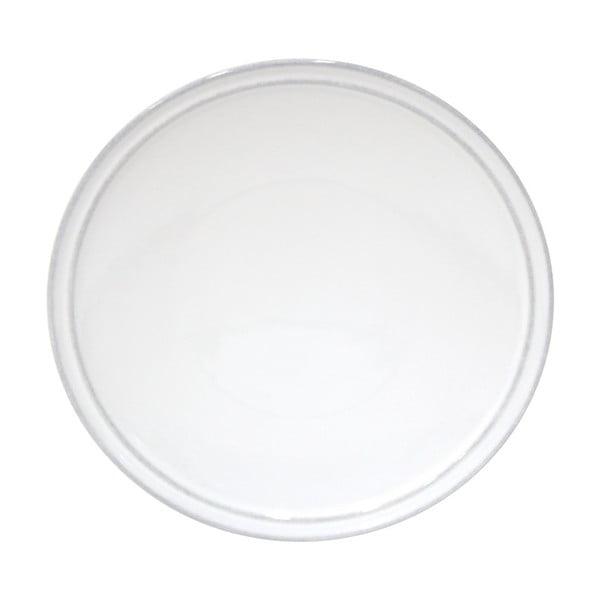 Biały kamionkowy talerz na pieczywo Costa Nova Friso, ⌀ 16 cm