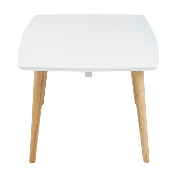 Bílý konferenční stolek Actona Elise, 116 x 42 cm