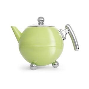 Světle zelená konvice na čaj Bredemeijer Bella Ronde, 1,2l