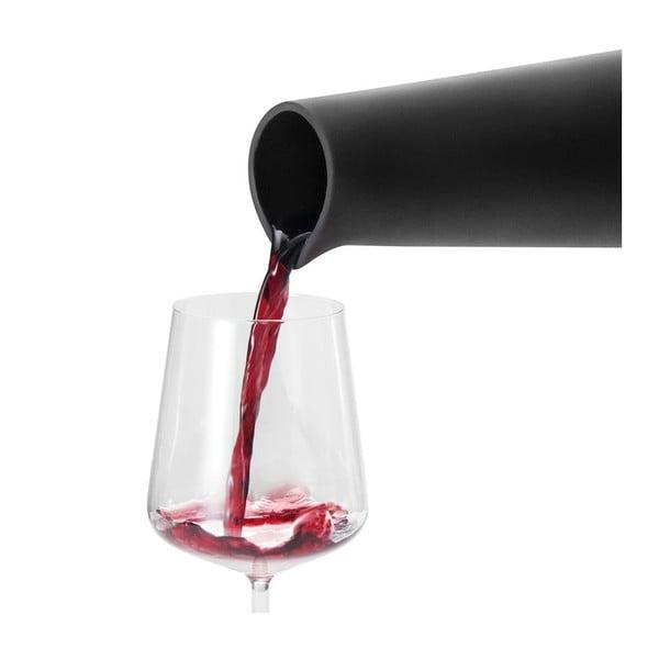 Terakotová karafa na víno, černá
