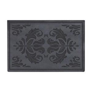 Šedo-černá rohožka Esschert Design Ornaments