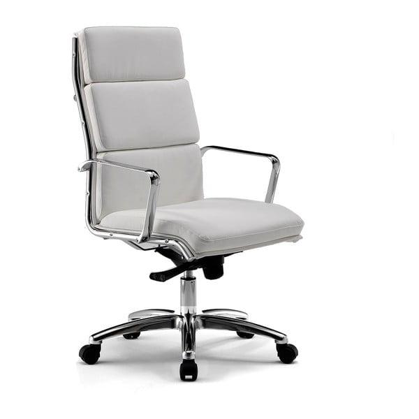 Kancelářská židle s kolečky Chrono Zago, šedobílá