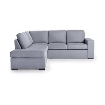 Canapea cu șezlong pe partea stânga SoftNord Scandic House, gri de la Softnord