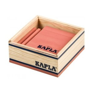 Dřevěná stavebnice Kapla, růžová