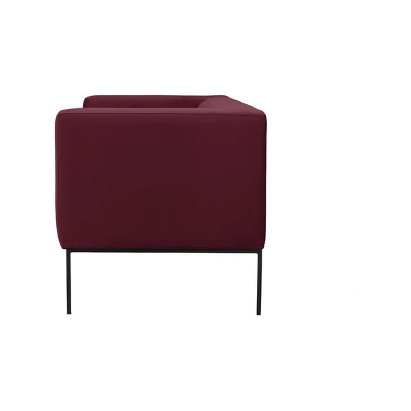 Bordeaux červená trojmístná pohovka Windsor & Co Sofas Neptune