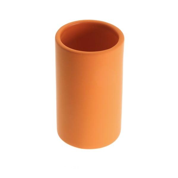 Clargo narancssárga fogkefetartó pohár - Versa