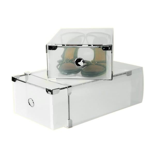 Set 2 krabic na boty Jocca Plastic Boxes, 31x20cm