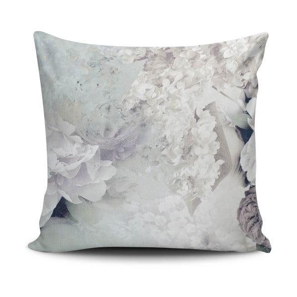 Povlak na polštář s příměsí bavlny Cushion Love Hermento, 45 x 45 cm