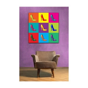 Tablou Pop Art Heels, 50 x 50 cm