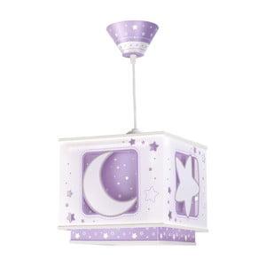 Závěsná lampa Moon Light, fialová