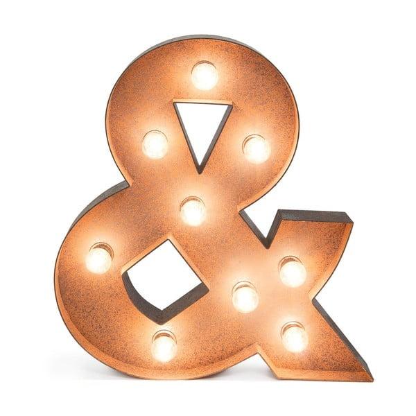 Ampersand dekorációs világítás - Really Nice Things