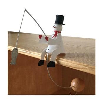 Decorațiune pentru Crăciun G-Bork Snowman Balance imagine