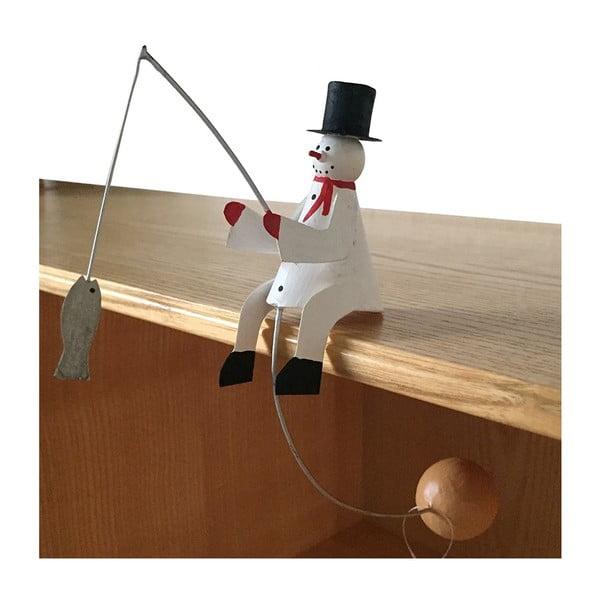 Decorațiune pentru Crăciun G-Bork Snowman Balance