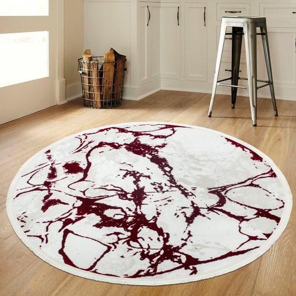 Koberec Extravagante Rojo, ⌀ 150 cm